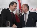 Andrej Danko a Wolfgang Sobotka