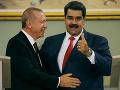 Erdogan navštívil Venezuelu: Podržal kritizovaného lídra Madura