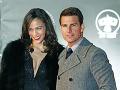 Paula Patton a Tom Cruise