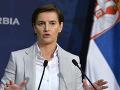 Srbská premiérka nevylučuje nasadenie armády v Kosove: Aj to je jedno z riešení