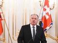 Prezident Slovenska Andrej Kiska.
