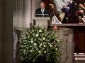 Pohreb bývalého prezidenta USA Georgea Herberta Walkera Busha.