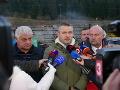 Buď sa dodávateľ stavby tunela Višňové spamätá, alebo zmluvu vypovieme, hovorí Pellegrini