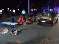 Vodič zrazil dvoch chodcov
