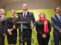 Liberáli sa obuli do Pellegriniho: Skreslil spoločné vyhlásenie veľvyslanectiev, tvrdí SaS