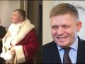 VIDEO Poslanci sa na Mikuláša poriadne odviazali: Cigary namiesto sladkostí, prekvapenie od Fica