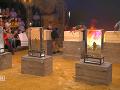 Finalisti najprv museli rozpíliť drevenú debnu, aby sa dostali k sekere, ktorou museli rozbiť ľadovú kocku.