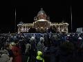 Tisíce Srbov vyšli opäť do ulíc hlavného mesta: Protestujú proti prezidentovi a jeho vláde