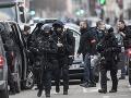 Niekoľko desiatok francúzskych policajtov vo štvrtok uzavrelo oblasť v južnej časti Štrasburgu.