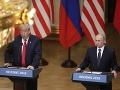 Donald Trump a Vladimír Putin