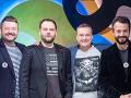 Pánska zostava v Inkognite - Michal Hudák, Milan Junior Zimnýkoval, Marcel Forgáč a Marián Čekovský.