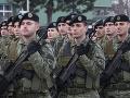Na fotke sú príslušníci kosovských bezpečnostných síl.