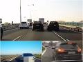 Najstrašnejšie manévre na našich cestách: VIDEO Týmto vodičom sú predpisy ukradnuté!