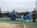 V Starej Huti havaroval vrtuľník záchranárov.
