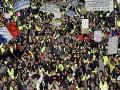 Francúzsko stále obrátené naruby: Piata vlna demonštrácií, polícia s plnými rukami práce