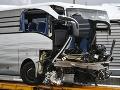 Mimoriadne tragická nehoda v centrálnej Ghane: Po zrážke autobusov minimálne 50 obetí