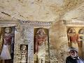 Archeológovia oznámili posledný objav roka 2018 v Egypte: Hrobka kňaza, ktorý bol ženatý!