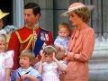 Princezná Diana s princom Charlesom a synmi