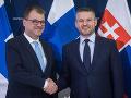 Pellegrini prijal fínskeho predsedu vlády: Fínsko je pre nás inšpiratívne v mnohých oblastiach
