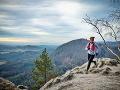 Lenka Vacvalová behá aj v horách.
