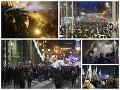 Maďarsko zachvátili obrovské protesty: VIDEO Ľudia vyšli do ulíc, nesúhlasia s otrockým zákonom