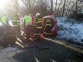 V katastri obce Kriváň sa stala vážna nehoda