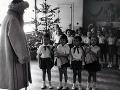 Dedo Mráz zavítal v roku 1955 do materskej školy na Belehradskej ulici v Bratislave.