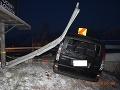 Dopravná nehoda v Košickom kraji