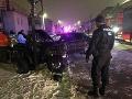 Večerné nešťastie v Spišskej Novej Vsi: FOTO Zrážka štvorkolky a auta, vodič je ťažko zranený