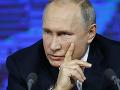 Putin predstavil investičný program: Ruská ekonomika sa musí pretransformovať