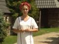 Barbora Krajčírová v relácii Folklorika