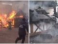Kvôli chamtivosti zasahovali hasiči: Ďalší požiar na vianočných trhoch
