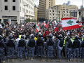 Zasadnutie parlamentu v Libanone odložili: Protestovali proti nemu tisíce ľudí