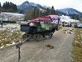 Nehoda kočov v južnom Bavorsku