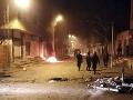Protesty v Tunisku si vyžiadali rozbité mesto.