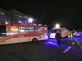 Nehoda slovenského mikrobusu pri Viedni: Vozidlo sa prevrátilo nabok, traja zranení