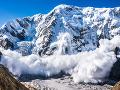 Češku v rakúskych Alpách strhla lavína: Mala obrovské šťastie