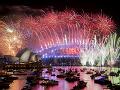 VIDEO Svet postupne víta nový rok: Takto vyzeral veľkolepý ohňostroj v Sydney
