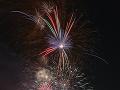 Novoročný ohňostroj v Bratislave