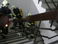 Tragický začiatok roka: Pri požiari bytu v Dubnici zahynul človek