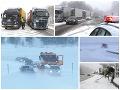 Mimoriadna situácia na FOTO: Vodiči bojujú s kalamitou na cestách, napadlo vyše 80 cm snehu!