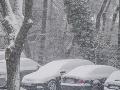 Sneženie v Bratislave