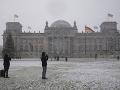 Sneženie v Nemecku
