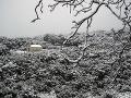 Nasnežilo aj v Grécku.