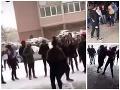 VIDEO Škaredá bitka školáčok v Košiciach má dohru: Polícia obvinila dve dievčatá