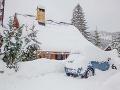 Snehové šialenstvo sa nekončí: Počasie opäť vystrája, z hotela v Tatrách evakuovali hostí!