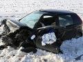 Hromadná nehoda troch áut pri Košiciach: Dvaja ťažko zranení, odstrašujúce FOTO z kolízie