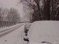 V hlavnom meste nasnežilo aj v januári.