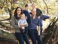 Kate Middleton, princ William a deti George, Charlotte a Louis