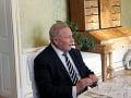 Exprezident Schuster po náhlej operácii srdca: Je v dobrom stave, presunú ho na kliniku